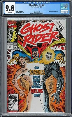 Ghost Rider (1990 2nd Series) #32 CGC WHITE Pages