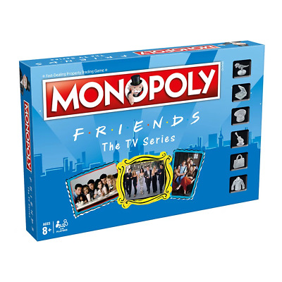 Monopoly Friends Edition Board Game NEW