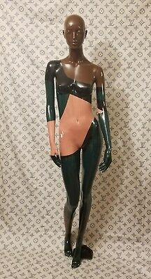 Extremely Rare Authentic Louis Vuitton Mannequin 6Ft Tall And Fabric 8Ftx9Ft