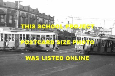 Sydney 1949 Clovelley Junction Trams Photo $5