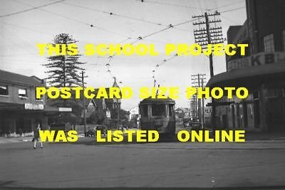 Sydney 1949 Tram Enfield Hotel Shops Photo $5