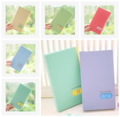 AL_ Photo Album 120 Pockets BTS/EXO/GOT7 Lomo Photocard Name Card ID Holder Raki