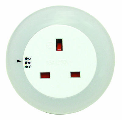 Eagle LED Nightlight Inc 13A Socket Colour Changing Ideal for Childrens/Baby Roo