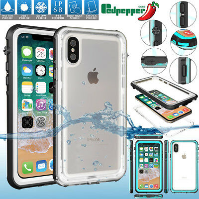 iPhone 7 8 Plus 11 Pro XS Max XR Waterproof Shockproof DirtProof Full Case Cover