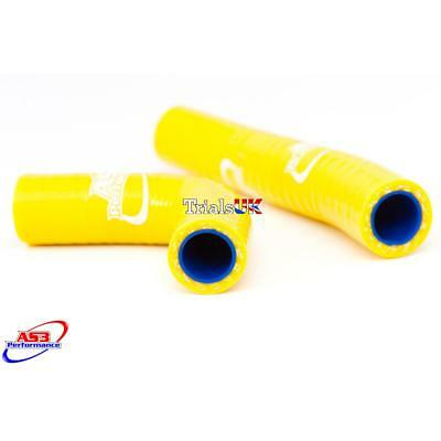 NEW AS3 High Performance Silicone Yellow Hose Kit-Sherco 2011Trials-FREE CLIPS
