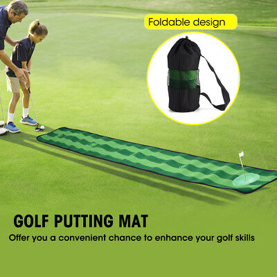 Golf Puttingmatte Abschlagmatte Golf Training Matte für Indoor Outdoor