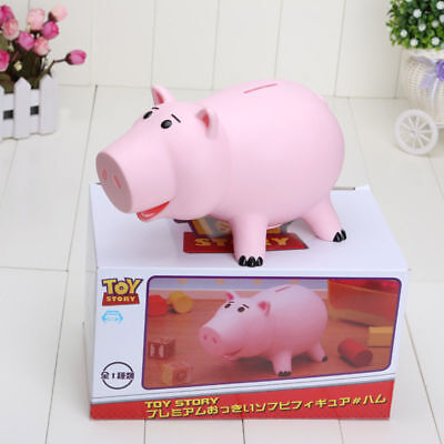 20CM Toy Story Hamm Piggy Bank Pink Pig Coin Box PVC Model Toys For Children