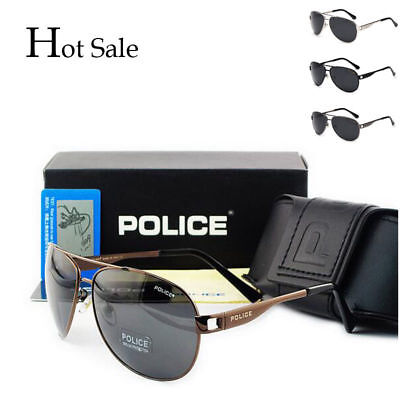 2018 Hot New style Men's polarized sunglasses Driving glasses + gift box