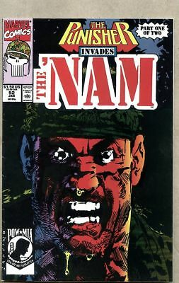 Nam #52-1991 nm 6.0 The 'Nam Marvel Comics Punisher Frank Castle