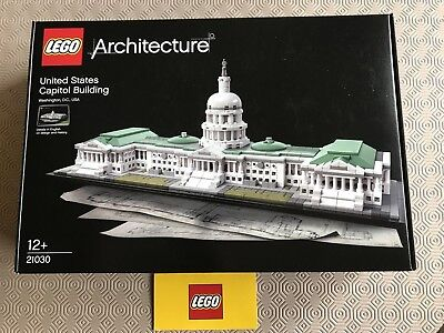 LEGO ARCHITECTURE 21030 United States Capitol Building Instruction ...