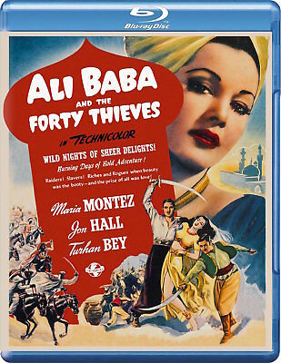 ALI BABA and the FORTY THIEVES [Blu-ray Disc] (1944) Maria Montez, Jon Hall Film
