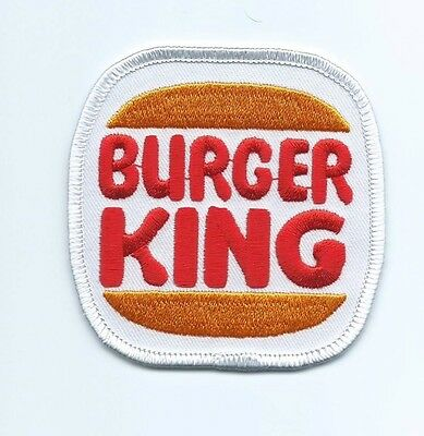 Burger king employee/driver patch 3 X 3 #2239