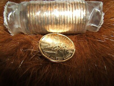 2010 RC Navy loonie BU from roll...free ship for Canada...low ship for USA!!