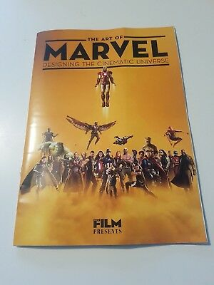Total Film The Art of Marvel Designing the Cinematic Universe Magazine Avengers
