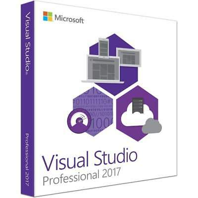 Microsoft Visual Studio 2017 Professional Multilingual  Deutsch Vollversion