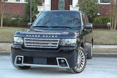 2011 Land Rover Range Rover Supercharged 4x4 4dr SUV 2011 RANGE ROVER AUTOBIOGRAPHY BLACK EDITION 1 OF ONLY 200 EVER BUILD !!!!!!!!!!