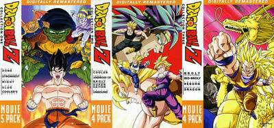 Dragon Ball (Dragonball) Z: 13 Complete Movies Pack 1-3 DVD Collection Boxed Set