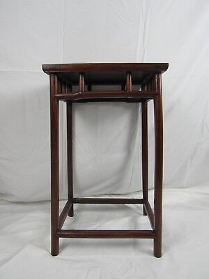 A Chinese HuaLi Wood  Wood  Plant Stand Vase Stand Display Table