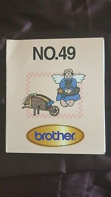 Brother Embroidery card for embroidery Machine COUNTRY CUTE No 49 Rare
