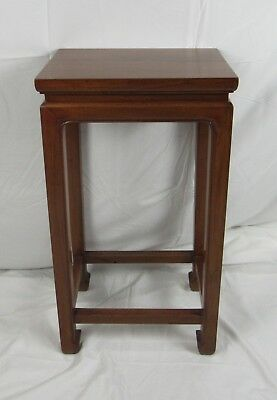 A Chinese Walnut Wood Plant Stand Vase Stand Display Table