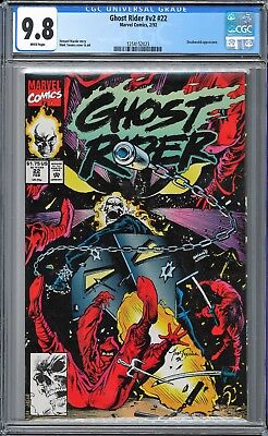 Ghost Rider (1990 2nd Series) #22 CGC WHITE Pages