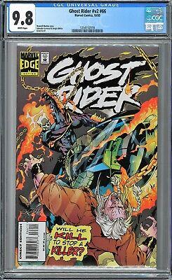 Ghost Rider (1990 2nd Series) #66 CGC WHITE Pages