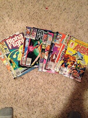 Alpha Flight 1983 Thru 1992 #1,2,3,4,5,6,7,8,9,thru 96 Complete Run/lot +See Vf+