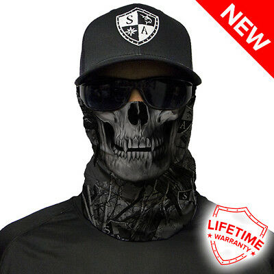 Blackout Forest Camo Skull Faceshield von SA Company