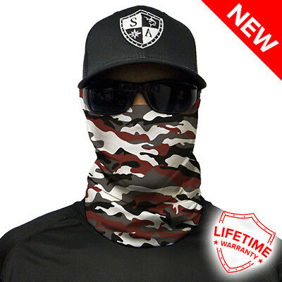 Crimson Military Camo Faceshield von SA Company