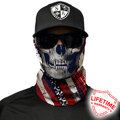 USA Skull Faceshield von SA Company