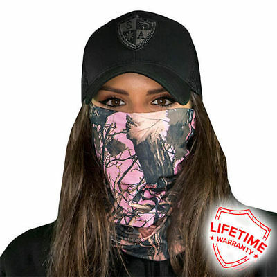 Pink Forest Camo Faceshield von SA Company
