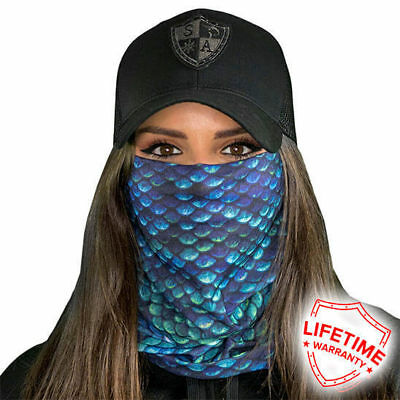 Mermaid Scales Face Shield von SA Company