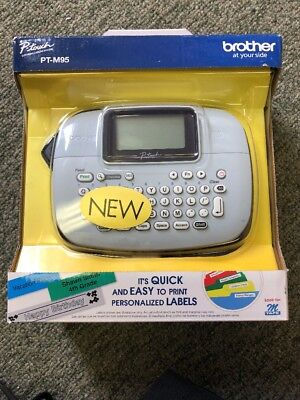 Brother P-Touch Pt-M95 Personal Label Maker/printer* Open Box. Staples Inspected