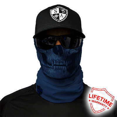 Tactical Navy Skull Face Shield von SA Company