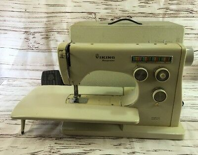 HUSQVARNA VIKING SEWING Machine Model 40 With Case Vintage Sweden Beauteous Viking Sewing Machine Models