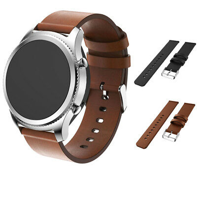 S3 For Samsung Strap Leather Band Premium Gear Accessory Frontier/classic Watch