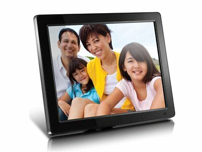 Aluratek (ADMPF512F) 12 inch Digital Photo Frame with 2GB Built-in Memory