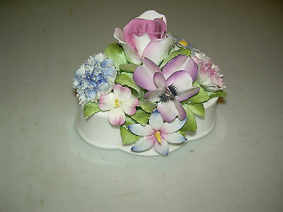 Vintage Royal Doulton Bone China Porcelain Bouquet of Flowers Made in England