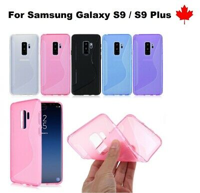 For Samsung Galaxy S9 / S9 Plus TPU Anti-Scratches Soft Silicone Cover Case