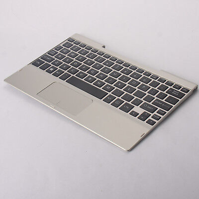 Genuine Toshiba Satellite Click 10 Palmrest with Trackpad and Keyboard H00009410