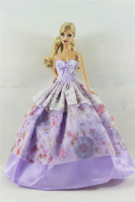 Fashion Princess Party Dress/Evening Clothes/Gown For 11.5in.Doll Y08