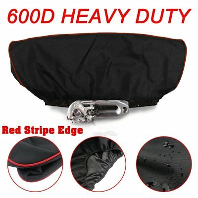 Winch Cover - Deluxe 600D Material winch covers, Heavy duty Waterproof Winch to