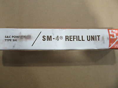 S & C SM-4 Power Fuse Refill Unit Amp 30E NEW!!! in Factory Box Free Shipping