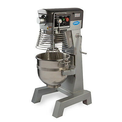 General GEM130 Commercial 30 Qt Planetary Stand Mixer w/ Timer - 2 HP #12 Hub