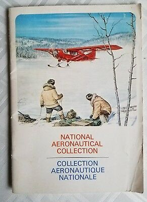 VINTAGE Canadian National Aeronautical Collection French/English Booklet