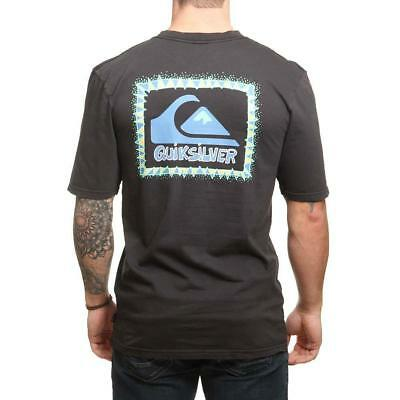 Quiksilver Ghetto Session Tee Black Quiksilver Men's Clothing T-Shirts