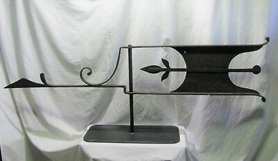 Antique Iron Goose Weather Vane From Meadville PA