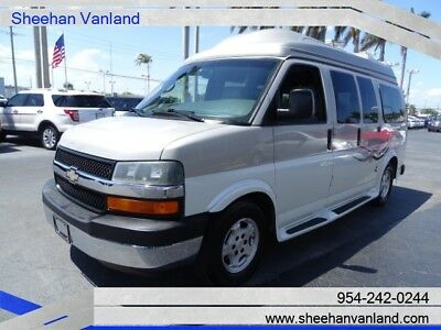 2006 Chevrolet Express Wheel Chair Lift Van! American Vans Conversion! 2006 HIGH TOP CUSTOM VAN WITH WHEELCHAIR LIFT AND TIE DOWNS PRISTINE CONDITION