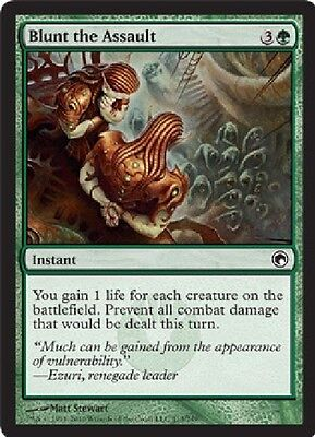 4x MTG: Blunt the Assault - Green Common - Scars of Mirrodin - SOM - Magic Card