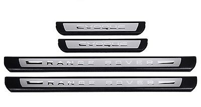 Door Sills Panel Scuff Plate Kick Steps Protect for Range Rover Evoque 2011-2018